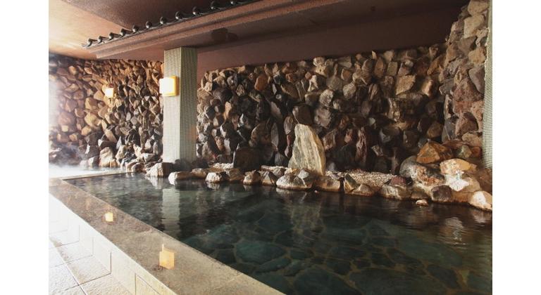 美湯の宿の風呂